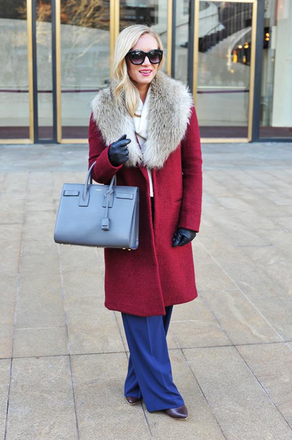 NYFW Red Coat
