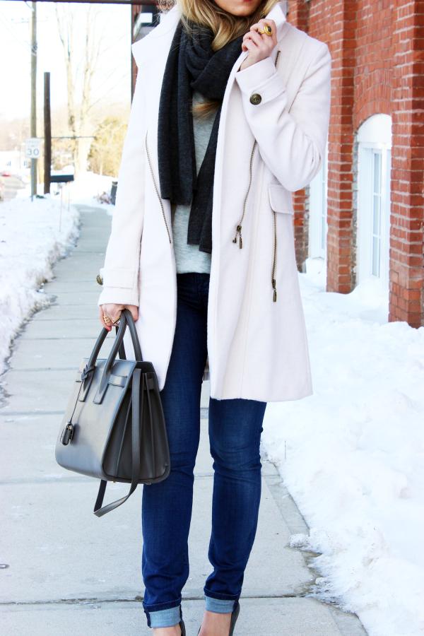 Winter Blush Coat