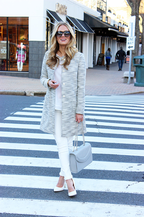 Gray and White Spring Style