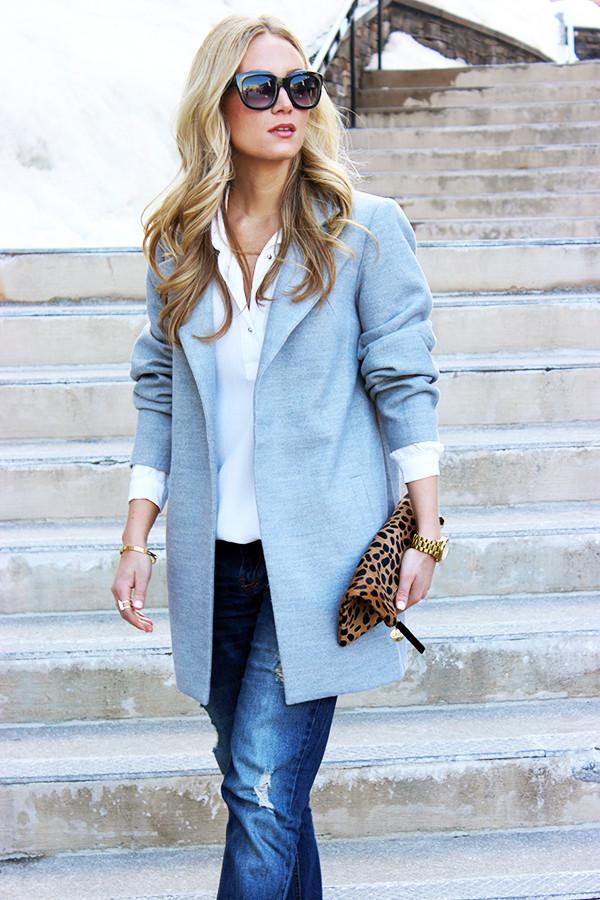 Spring Gray Coat