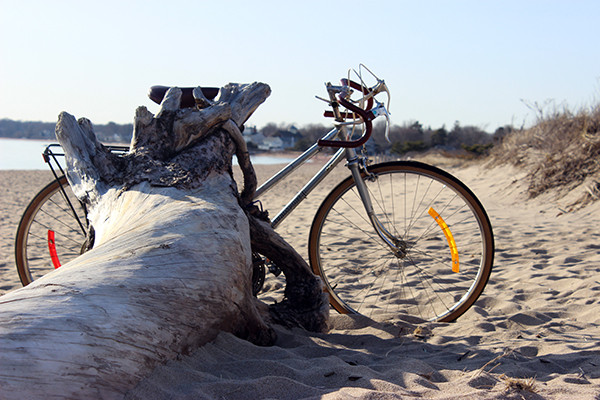 Bikes on Beach