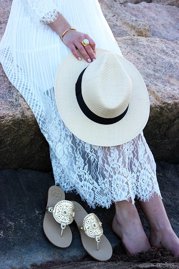 Jack Rogers and Panama Hat