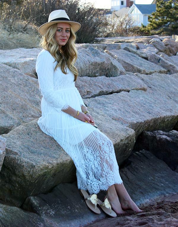 Long Lacey Dress