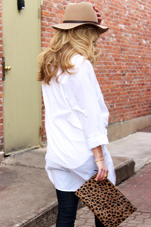 Oversized White Shirt