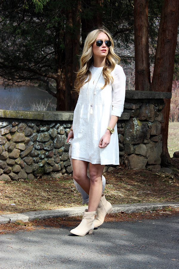 23cf9172d07 STYLE // Coachella Inspired Little White Dress