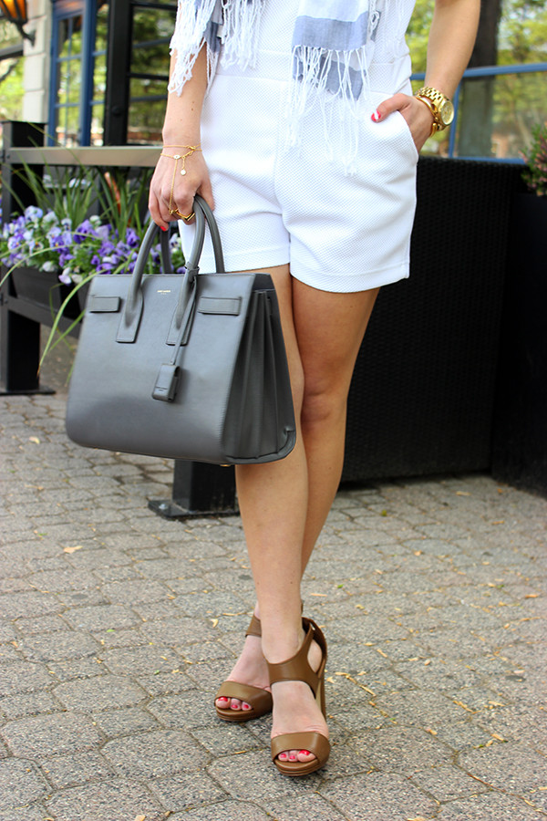 STYLE // White Romper - Style CuspStyle Cusp