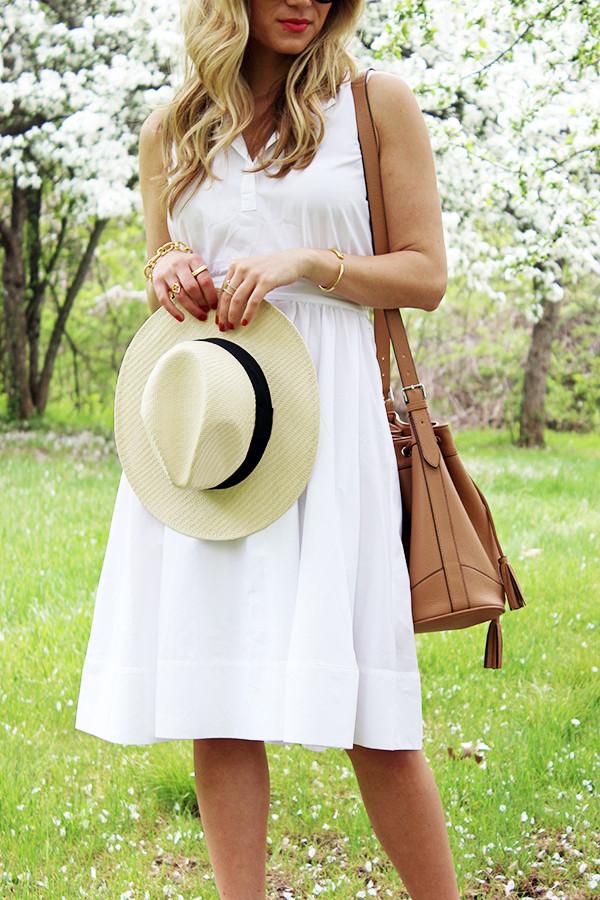 Panama Hat and Bucket Bag