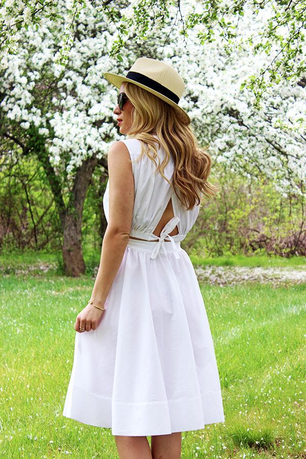 Summer White Sundress