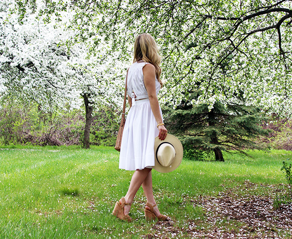 Sundress with Wedges