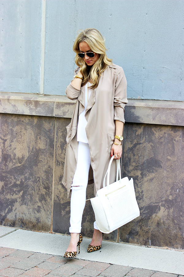 Nude Duster Trench