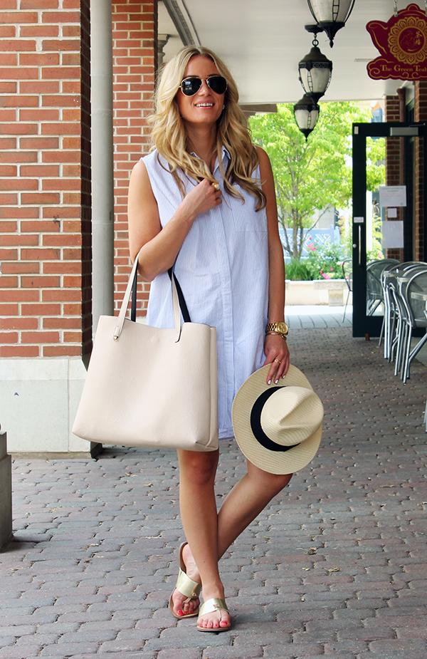 Shirtdress Summer Outfit