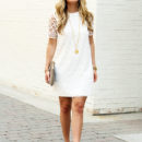 STYLE // White Lace Dress