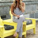 TRAVEL // Stripe Jumpsuit in Bar Harbor
