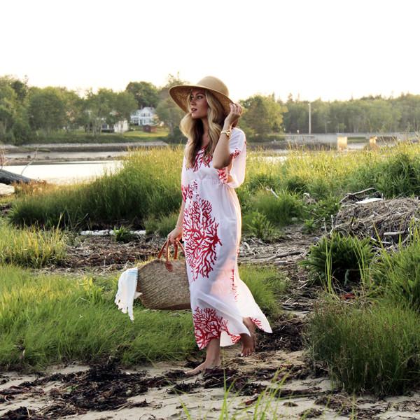 547e6a069c ... Beach-Look Coral-Print-Coverup- Style-Cusp-Maine- ...