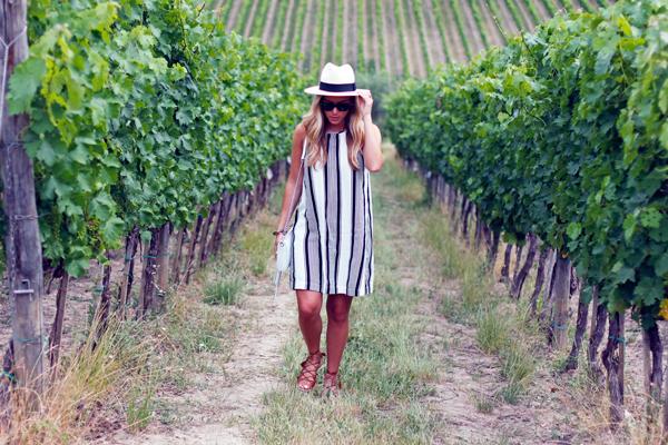 69f37c77c07e Stripe Dress in Tuscany - Style Cusp