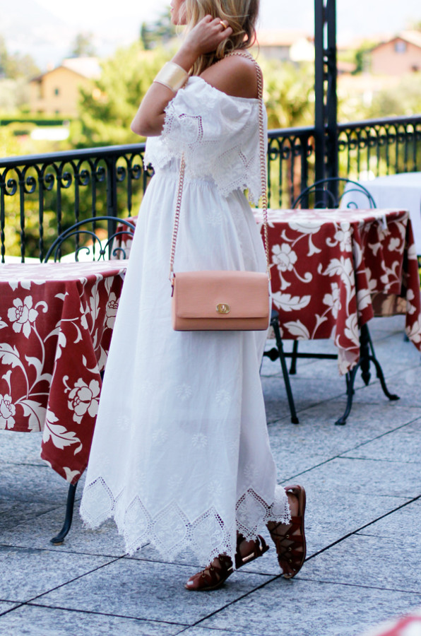 White-Dress-with-Sandals