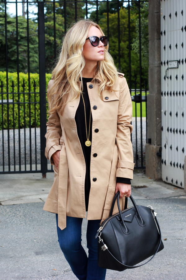 Tan-Trench-Givenchy-Bag