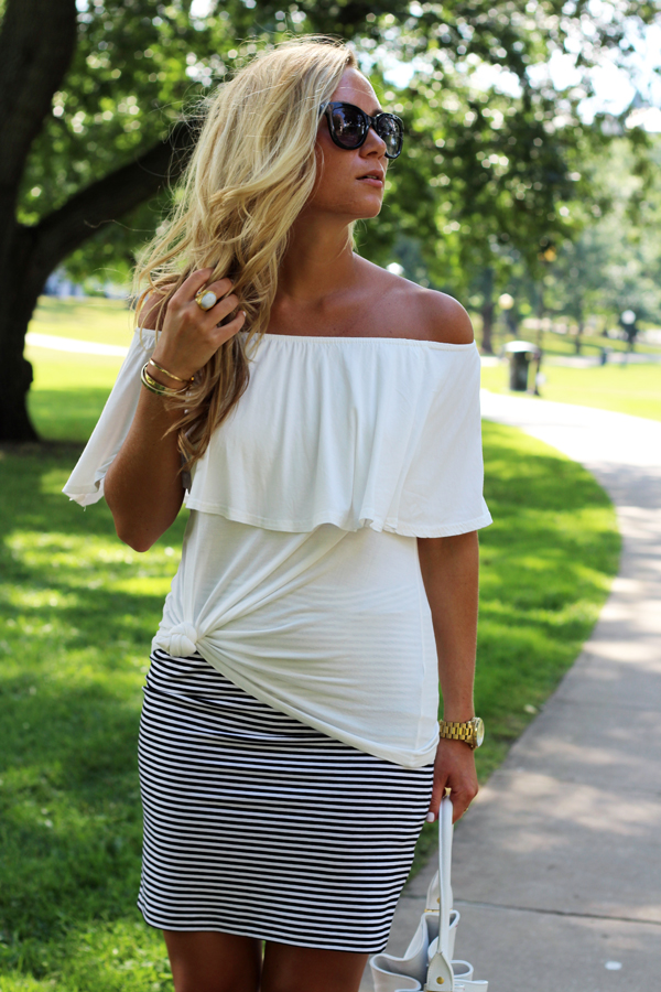 White-Off-Shoulder-Shirt'