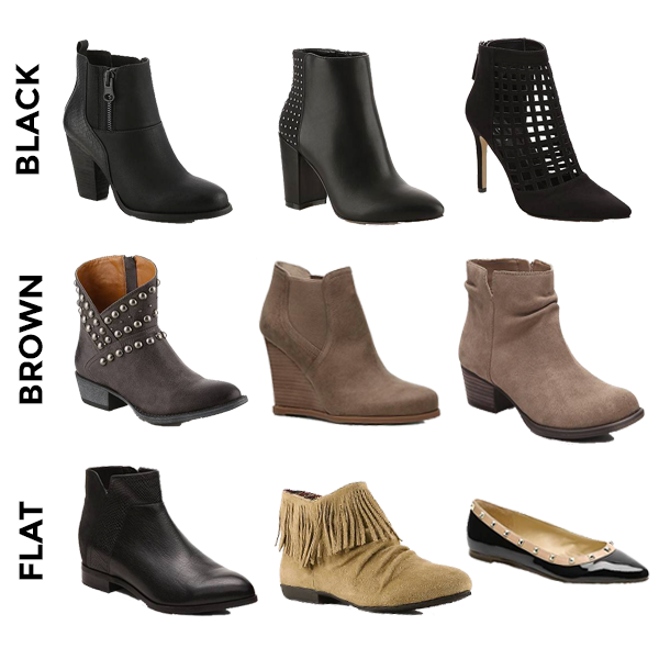 DSW Fall Booties