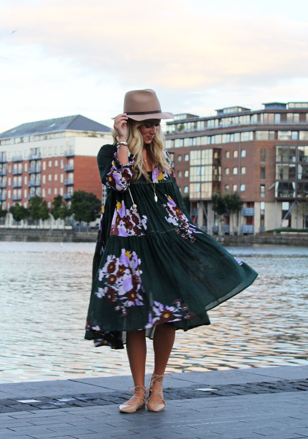 Fall-Floral-Dress-