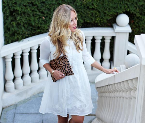 Flowy-Little-White-Dress