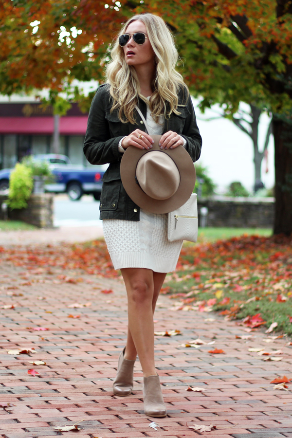 Cream-Sweater-Dress