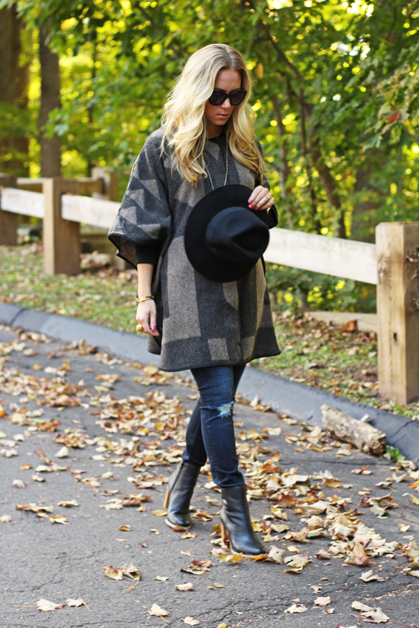 Fall-Poncho-Style