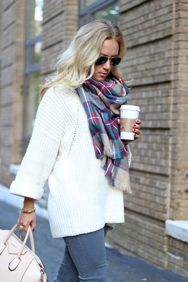 Oversized-Sweater-with-Scarf