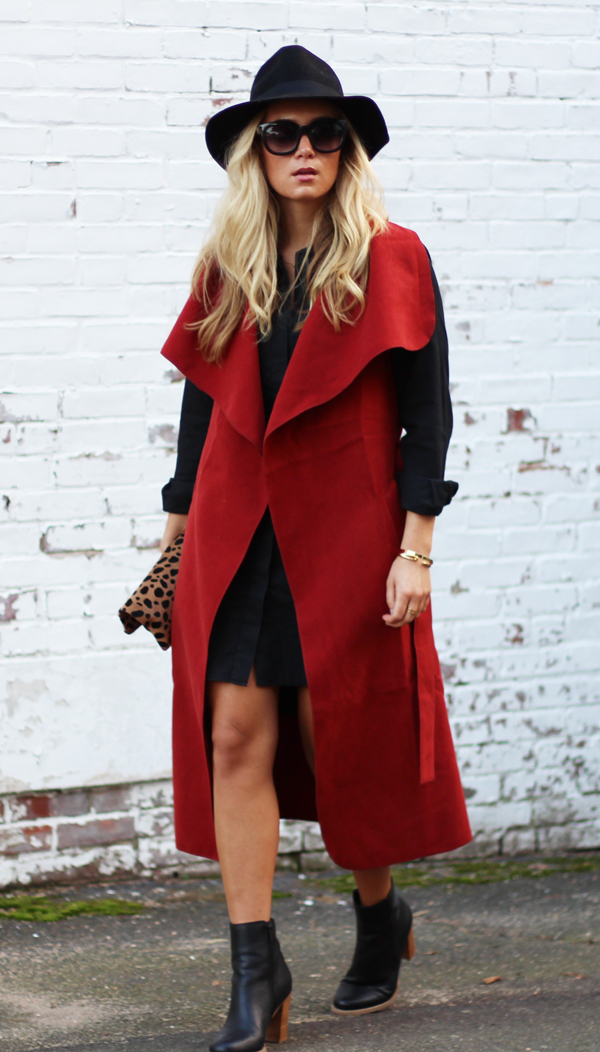 Red-Sleeveless-Trench-
