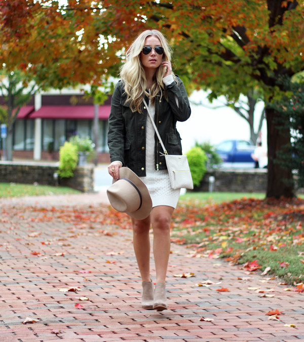 Sweater-Dress-with-Jacket