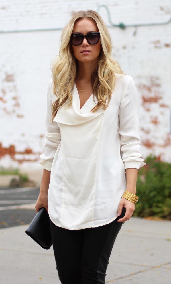 White-Silk-Top