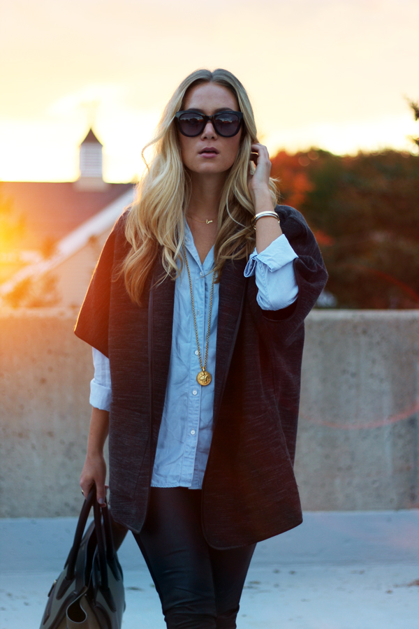 Chambray-and-Leather