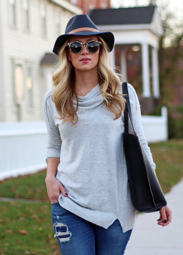 Gray-Cowlneck-Sweater-