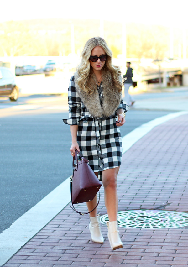 Buffalo-Plaid-Shirtdress