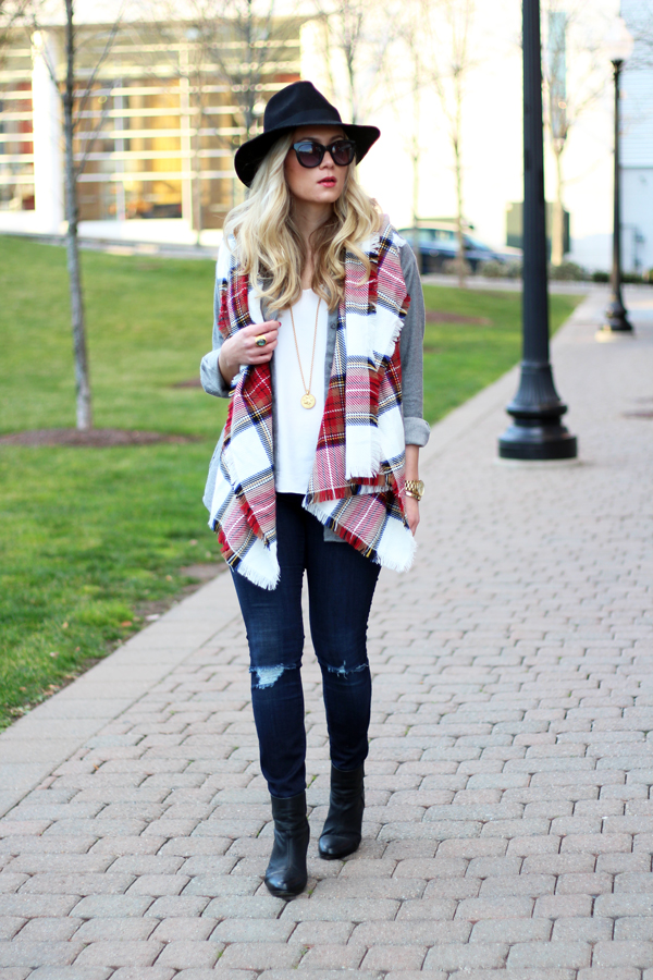 Christmas-Plaid-Scarf