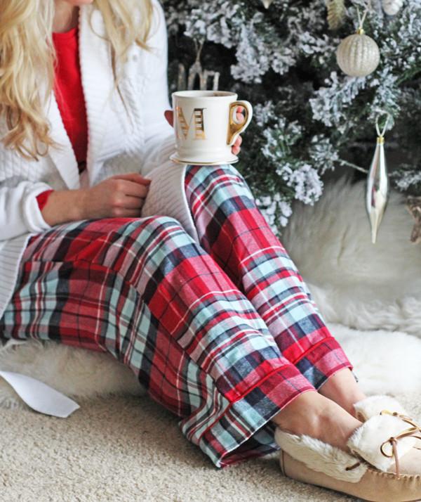 Plaid-Pajamas-