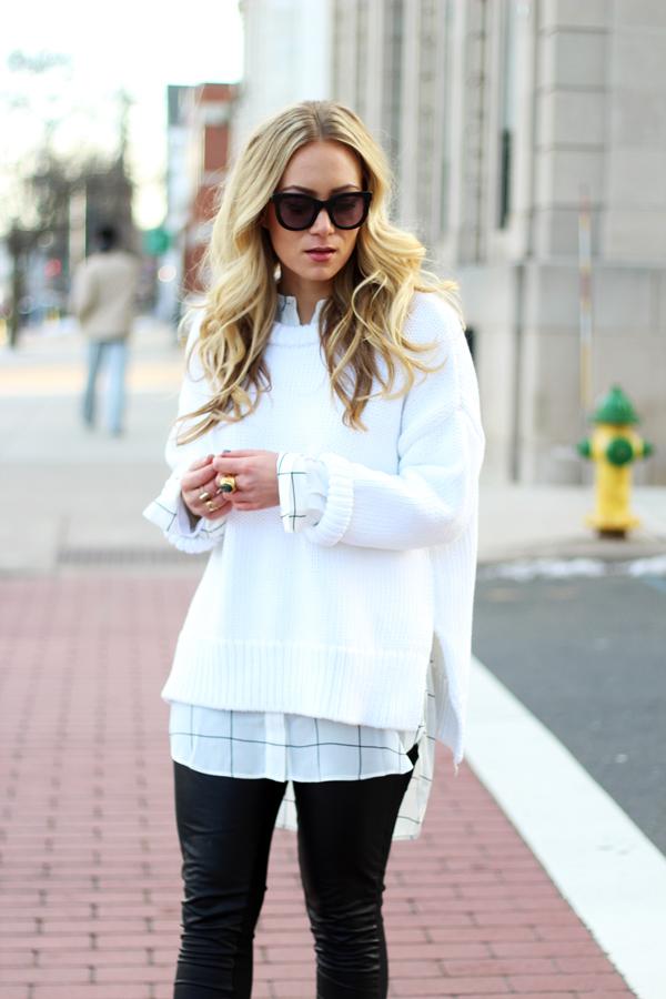 Chunky-White-Sweater