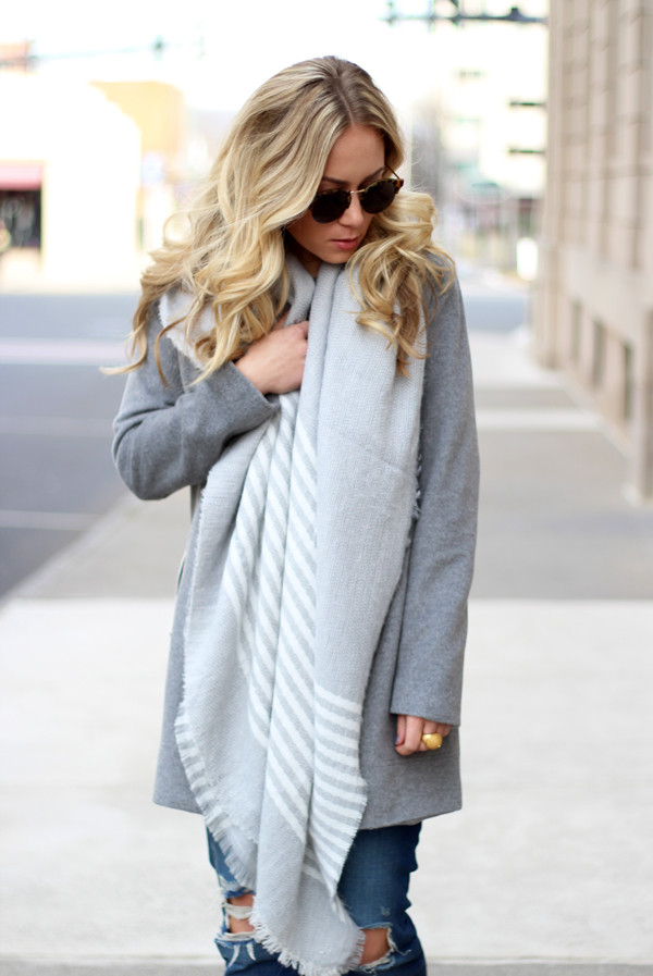 Gray-Stripe-Blanket-Scarf