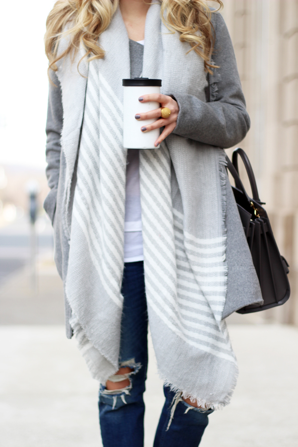Gray-Striped-Scarf-