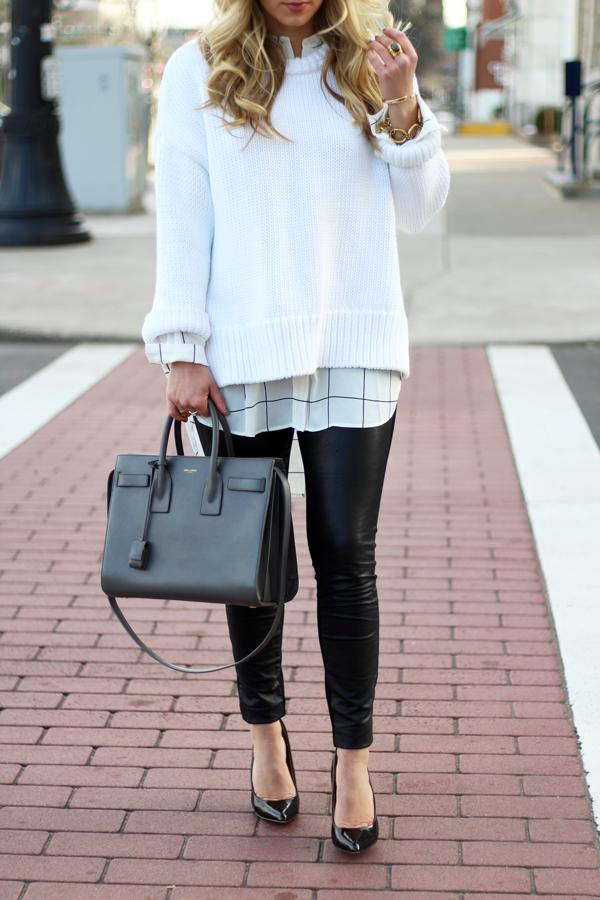 Leather-Legging