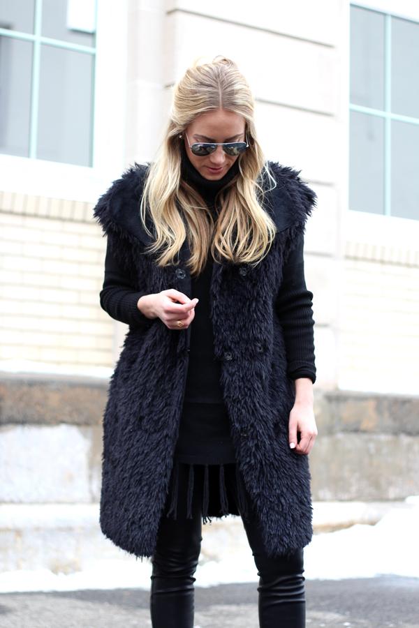 Black-Faux-Fur-Vest