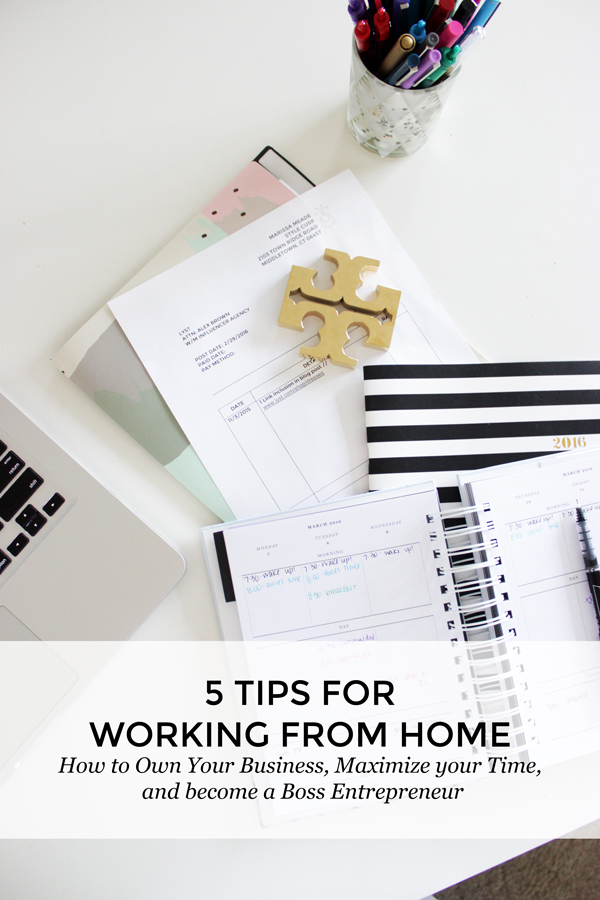 5-Tips-Working-from-Home-How-to-Maximize-your-time-entrepreneur-tips