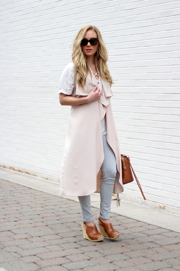 Nude-Trench-Vest-Coat-