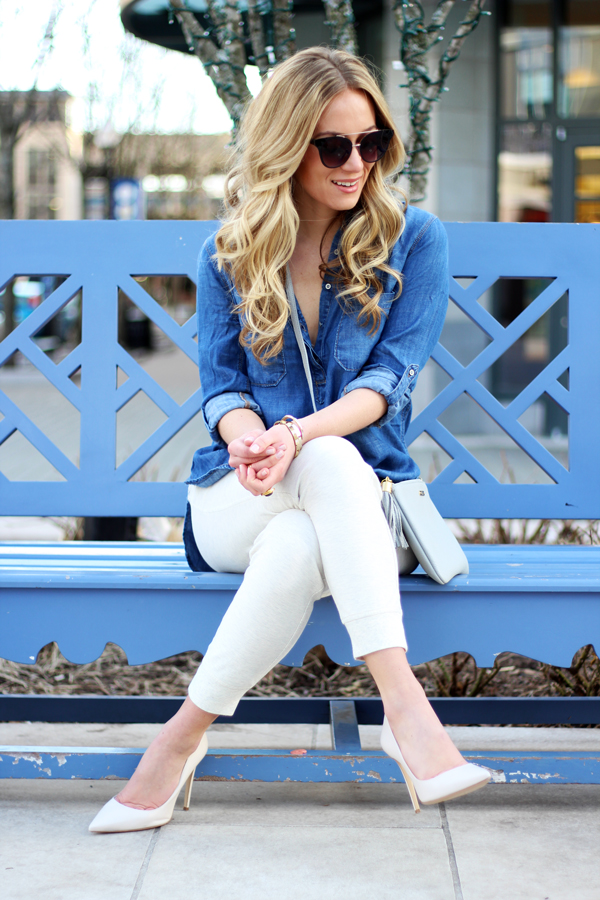 Spring-Style-Chambray-Top