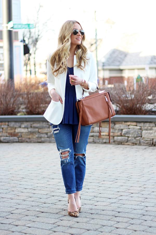 White-Blazer-Minkoff-Bag