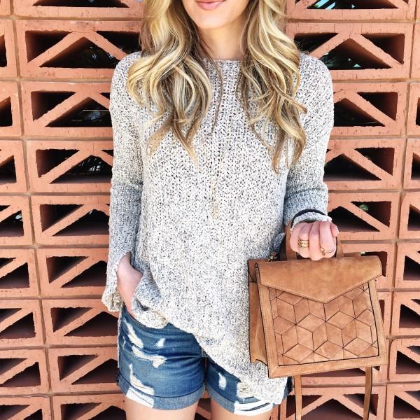 Knit Sweater Cutoffs Welden Bags