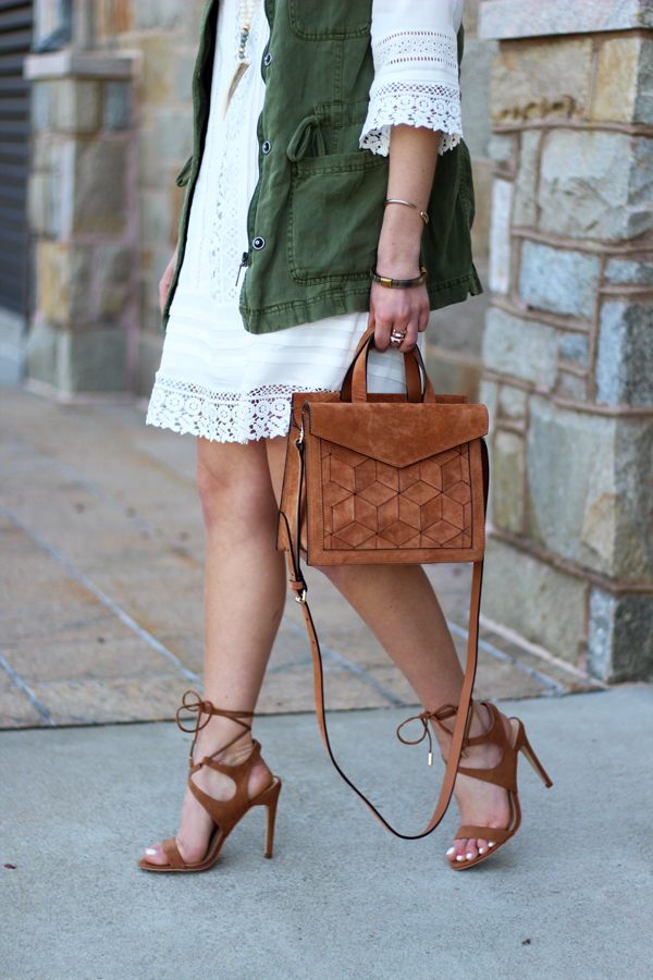 Strappy-Tan-Heel-Suede-Bag