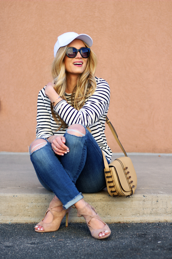 Striped-Tunic-Ripped-Jeans