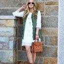STYLE // Utility Vest + Crochet Dress