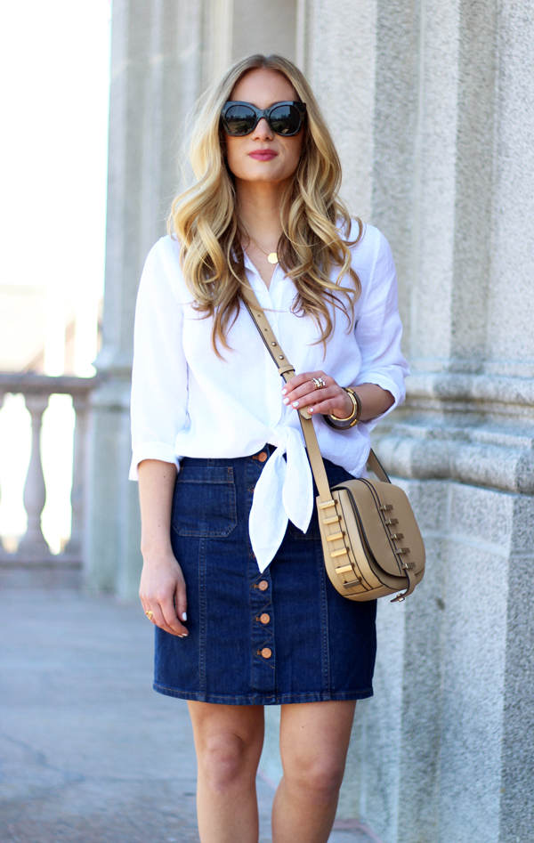 Tie-Front-White-Shirt